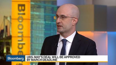 Bloomberg Daybreak: Asia - UBS's Serebriakov Sees a Bit of Pain for Pound in Short Term
