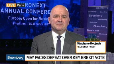 Bloomberg Markets: European Open - Hoping for Best, Planning for Worst on Brexit, Says Euronext's CEO