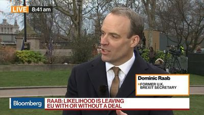 Bloomberg Markets: European Open - U.K. Will Leave on March 29 With or Without a Deal, Says Raab
