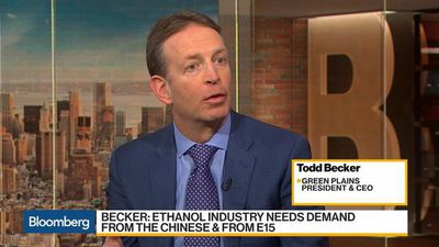Bloomberg Daybreak: Americas - Green Plains CEO Says Gasoline Demand Remains Good