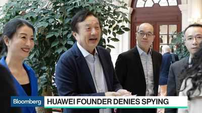 Bloomberg Technology - Huawei Founder Breaks Silence to Deny Spying