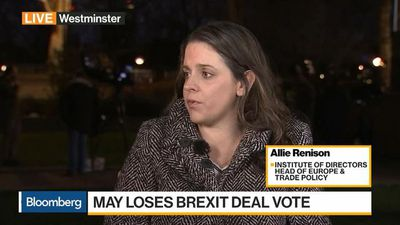 Bloomberg Daybreak: Europe - Small Businesses Not Prepared for No Deal Brexit, Says Institute of Director's Renison