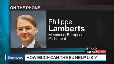 Bloomberg Surveillance - May's Playing Games With Brexit's Red Lines, EU's Lamberts Says