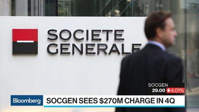 Bloomberg Surveillance - SocGen's Trading Slide Adds to Setbacks for French Banks