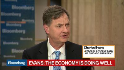 Fed Is Well Positioned and Can Easily Be Patient, Evans Says