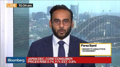 Bloomberg Daybreak: Asia - Japan's Inflation to Decelerate Further, Moody's Analytics Says