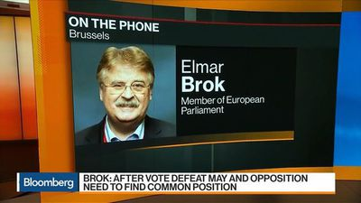 Bloomberg Markets: European Open - European Parliament's Brok Says May, Opposition Need to Find Common Position