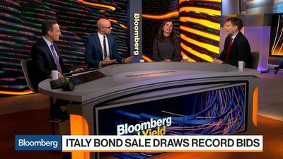 Decoding Italy's Bond Sale That Drew Record Investor Bids
