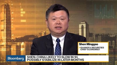 Bloomberg Daybreak: Asia - China's Slowdown Will Last for a While, Says Guangfa Securities's Shen