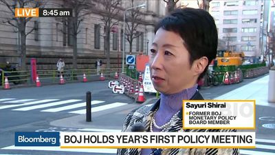 Bloomberg Daybreak: Asia - BOJ Likely to Maintain Current Policy This Year, Former Board Member Shirai Says