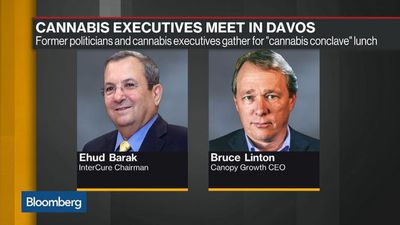 Cannabis Meets the Business Elite in Davos