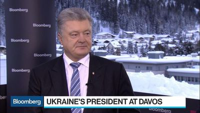 Bloomberg Surveillance - Ukraine's Poroshenko Says Danger of Populism 'Extremely High'