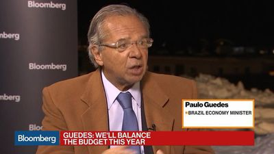 Brazil Will Balance the Budget This Year, Finance Minister Guedes Says