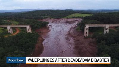 Bloomberg Markets - Vale Shares Plunge Following Deadly Brazil Dam Disaster