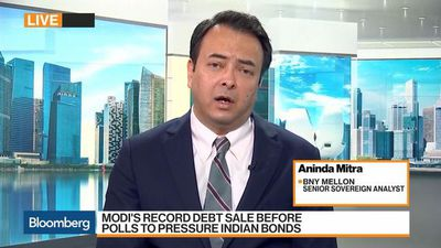 Bloomberg Markets: Asia - Fiscal Pressure Is on in India, Says BNY Mellon's Mitra