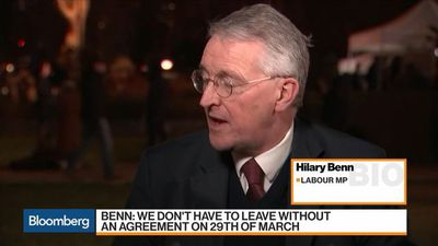 Bloomberg Markets - No-Deal Brexit Would Be 'Disastrous,' U.K.'s Benn Says