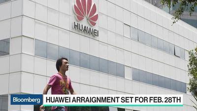 Bloomberg Technology - U.S. Indictments Against Huawei Send a Message to the World