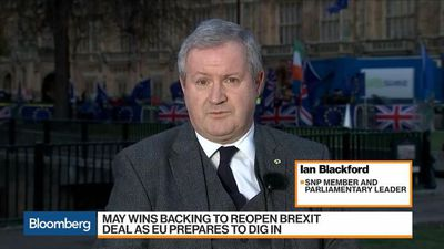 Bloomberg Markets: European Close - Scottish Independence a Post-Brexit Option, SNP's Blackford Says