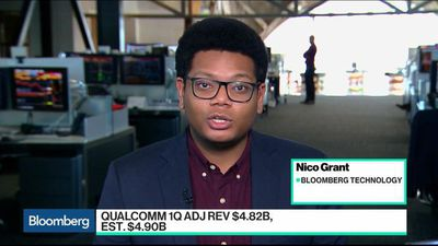 Bloomberg Technology - Highlights From Qualcomm's Earnings Report