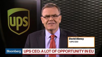 Bloomberg Markets - UPS CEO Says Investments Paid Off in 'Smooth' Fourth-Quarter