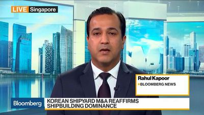 Bloomberg Daybreak: Asia - Ship Giants to Join Forces to Fend Off China Threat