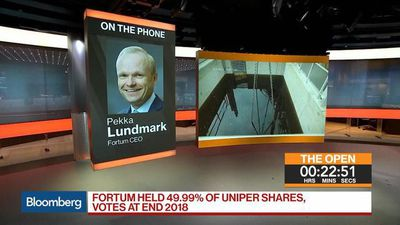 Bloomberg Markets: European Open - Fortum CEO on Dividend, Uniper, Energy Prices in 2019