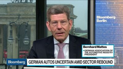 Bloomberg Surveillance - German Carmakers Strengthen the U.S. Economy, Industry Group Says