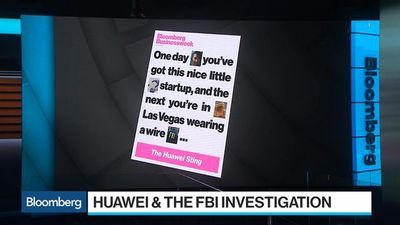 Bloomberg Surveillance - FBI Sting: Did Huawei Try to Steal Tech Secrets?