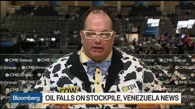 Bloomberg Markets - Oil Price Declines as Stockpiles, Venezuela Impact Market