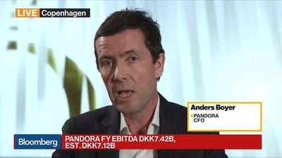Bloomberg Daybreak: Europe - Pandora CFO on Guidance, Buyback, CEO Search, Store Closures
