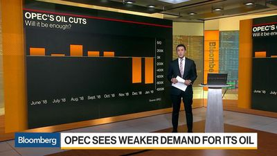 Bloomberg Daybreak: Asia - Pulling Back: OPEC Predicts the World Needs Less of Its Oil