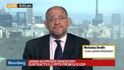Bloomberg Daybreak: Asia - Japan's Companies Need to Buy Back Shares, CLSA's Smith Says