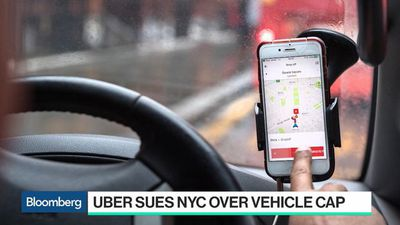 Bloomberg Technology - Uber Pushes Back Against New York City