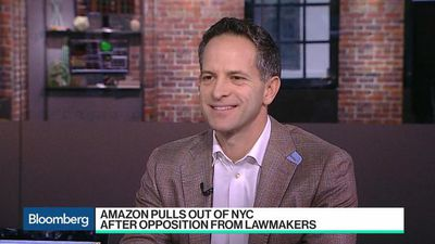 Bloomberg Technology - SurveyMonkey CEO on Amazon's NYC Exit and Facebook