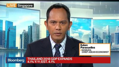 Bloomberg Markets: Asia - Thailand Is Back to a Lower Growth Trajectory, Says Nomura's Paracuelles