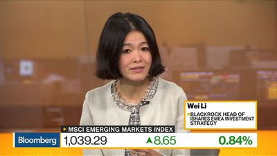 Bloomberg Daybreak: Europe - BlackRock's Li Sees a Lot of Inflows Into Emerging Markets