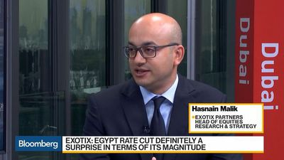 Expect More Rate Cuts From Egypt, Says Exotix's Malik