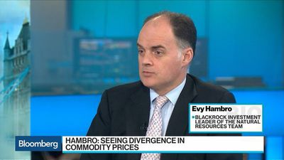 Bloomberg Surveillance - BlackRock's Hambro Sees Divergence in Commodity Prices