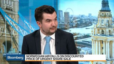 Bloomberg Markets - Norwegian Air Offers Heavily Discounted Shares to Shore Up Balance Sheet