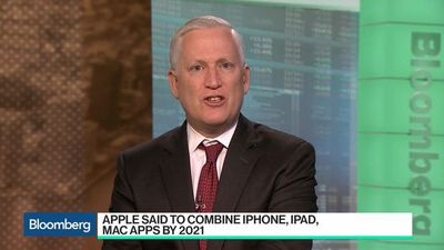 Bloomberg Technology - Apple Said to Combine iPhone, iPad, Mac Apps by 2021