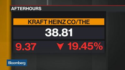 Bloomberg Daybreak: Asia - Kraft Heinz Plunges on $15.4 Billion Writedown