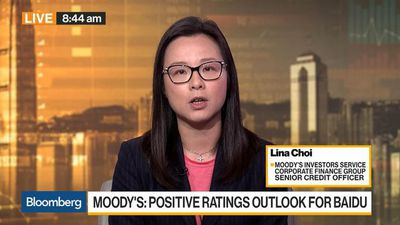 Bloomberg Daybreak: Asia - Moody's Choi Has a Positive Ratings Outlook for Baidu