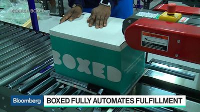 Bloomberg Technology - Boxed's Transition to Automation Has Created Jobs, CEO Says