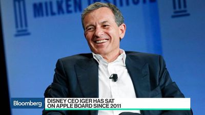 Bloomberg Technology - Apple's Video Plans Put Bob Iger's Board Seat at Risk
