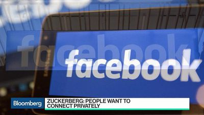 Bloomberg Technology - Facebook Privacy Battle Will Center on Messaging, Activate CEO Says