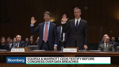 Bloomberg Technology - Stolen Equifax, Marriott Data Likely Being Used Strategically, Veracode's Eng Says