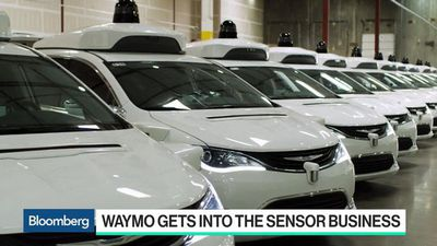 Bloomberg Technology - Waymo Starts Selling Sensors to Lower Cost of Self-Driving Cars