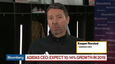 Bloomberg Daybreak: Europe - Adidas Will See a Very Solid 2019, Says CEO Rorsted