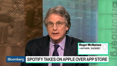 Bloomberg Technology - Spotify Antitrust Complaint Against Apple Has Some Weight, Roger McNamee Says