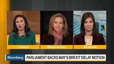 Bloomberg Daybreak: Europe - Parliament Backs May's Brexit Delay Motion